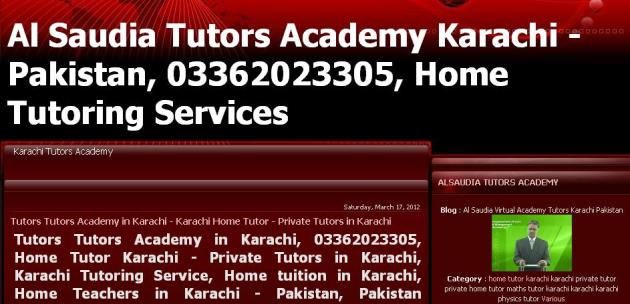 onine tuition pakistan - online tutor academy