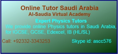 Physics Tuition Saudi Arabia