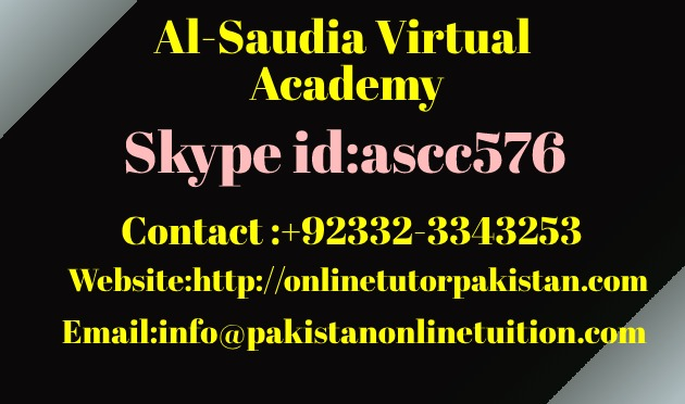 Olevel Math Tutor Pakistan
